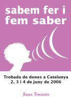 """Llibre de la Trobada de Dones 2006 """"Les Dones sabem fer i fem saber"""""""