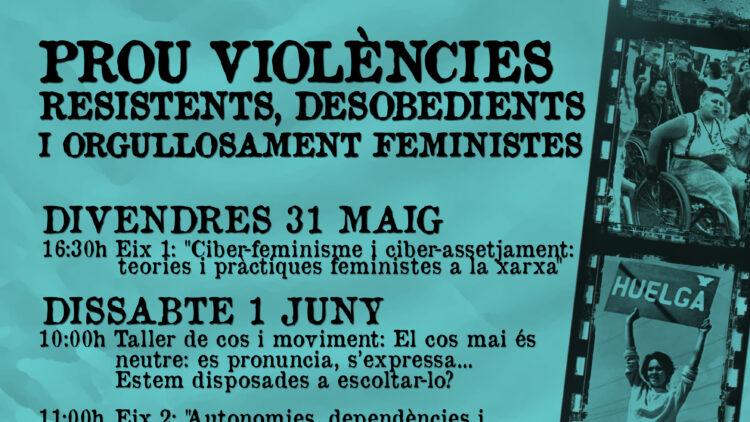 Escola Feminista d'Estiu per a Dones 31 de maig i 1 de juny de 2013