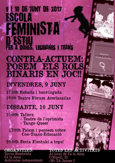 Programa Escola Feminista d'Estiu'17