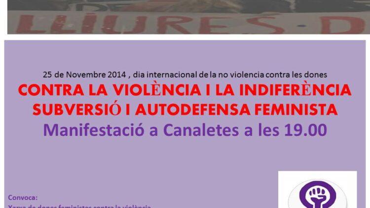 25N, Dia Internacional de la No Violència contra les Dones