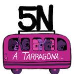5N Manifestació a Tarragona contra les violències masclistes