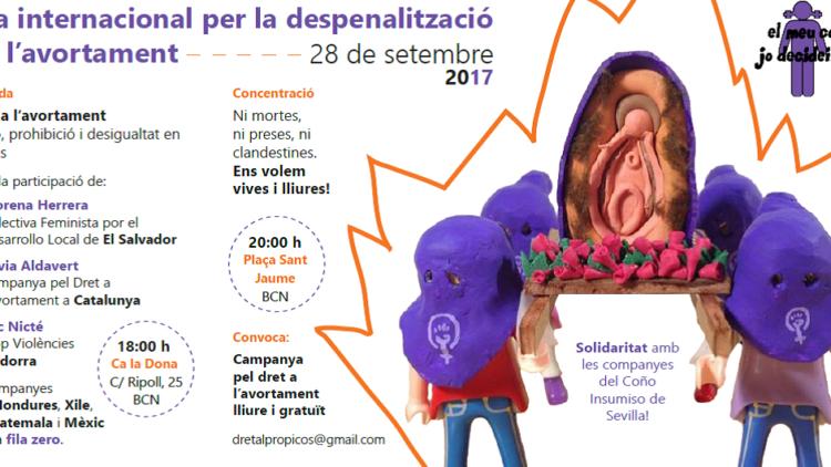 28S:: Dia Internacional per la Despenalització de l'Avortament