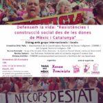 """""""Resistències i construcció social des de les dones de Méxic i Catalunya"""""""