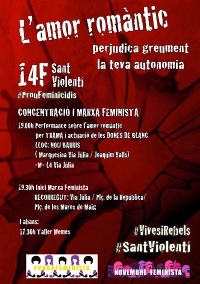 14F Desmuntem Sant Violentí