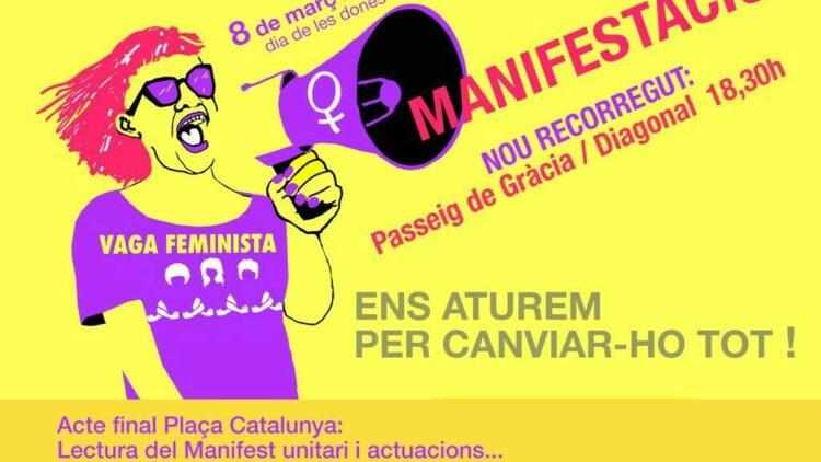 8M #VagaFeminista – Concentració