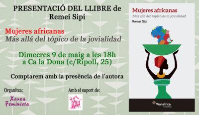 Presentació del llibre de Remei Sipi [Dc 9/05]