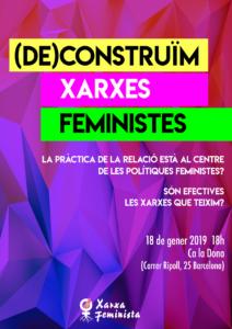 (De)construïm xarxes feministes