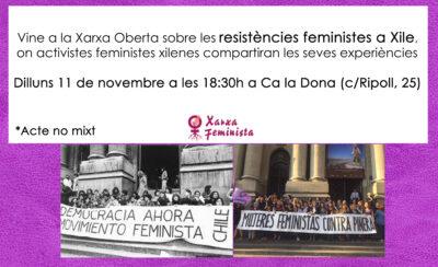 Xarxa Oberta: resistències feministes a Xile