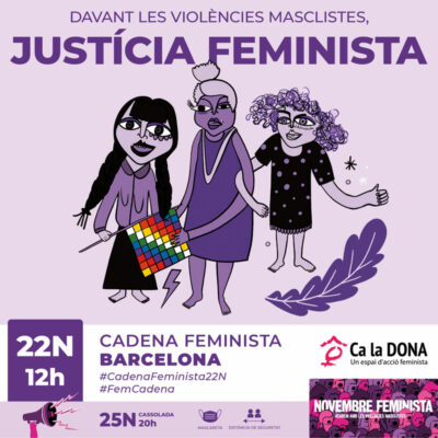 Omplim la Cadena Feminista 22N
